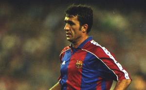 George Hagi Barcelona