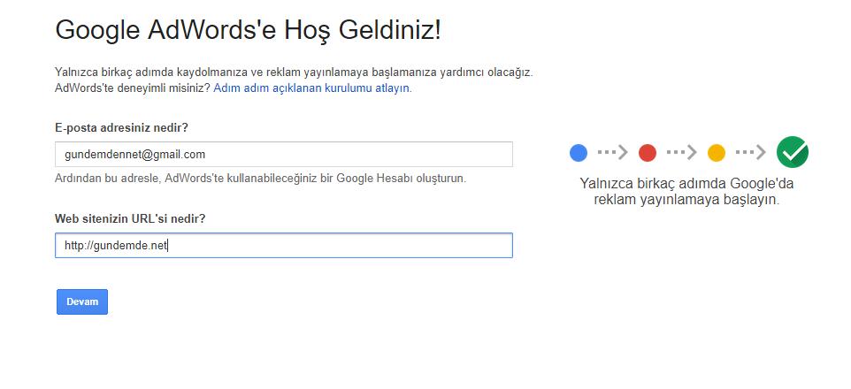 Google da aranan kelimeleri bulma