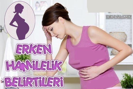 bir aylık hamile belirtileri