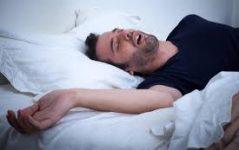 Uyurken ağızdan salya akması